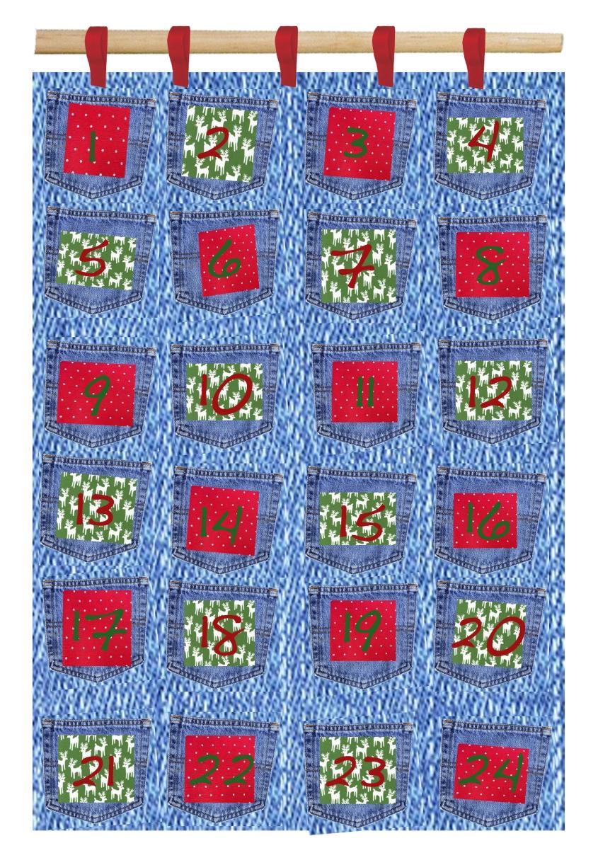 Advent Calendar Design Your Own : Make your own…… nim advent calendar jeans for genes