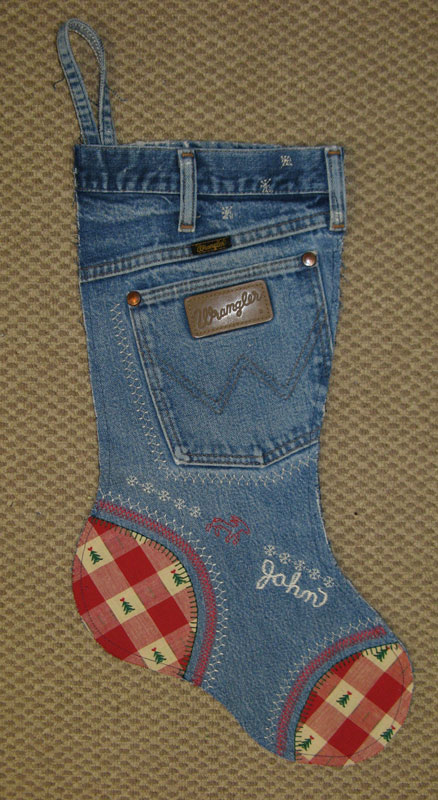 Stocking denim