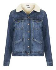 Topshop Denim Coat