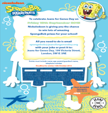 SpongeBob flyer side 2