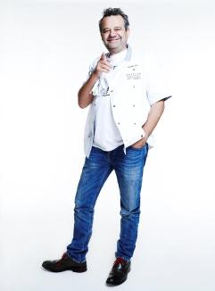 Mark Hix, chef, Jeans for Genes supporter