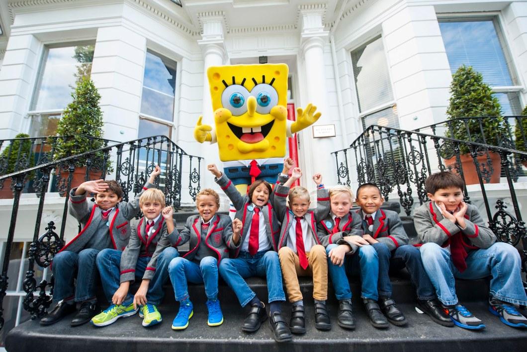 Jeans for Genes Day SpongeBob school visits