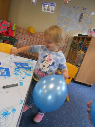 Whalley Meadows Private Day Nursery enjoying Jeans for Genes Day